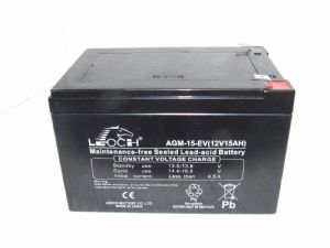 Leoch AGM-15-EV - Electric Bike Battery